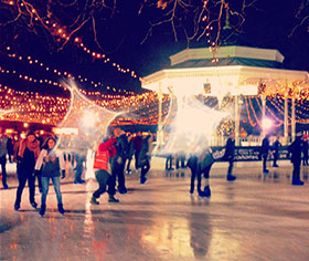 KDH- RTPI Young Planners event at Winter Wonderland